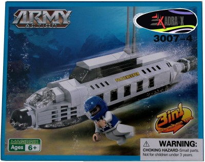 Adraxx DIY Hobby 3D Fighter Spaceship Model Assembling Kit