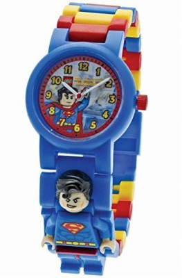 Schylling Lego Dc Super Heroes 24Pc Superman Watch & Mini Combo