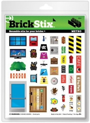 BrickStix Brick Stix Metro Reusable Stix For Your Bricks