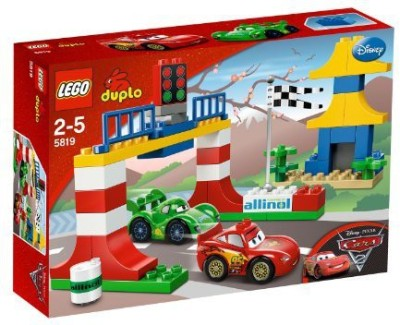Unknown Lego Duplo Disney Pixar Cars 2 Tokyo Racing (5819)