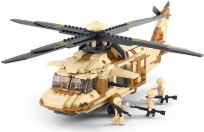 Sluban Lego Black Hawk Helicopter