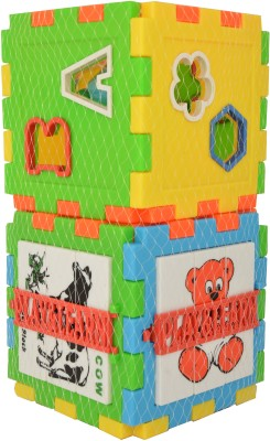 Just Toyz Blocks Alphabet And Animal