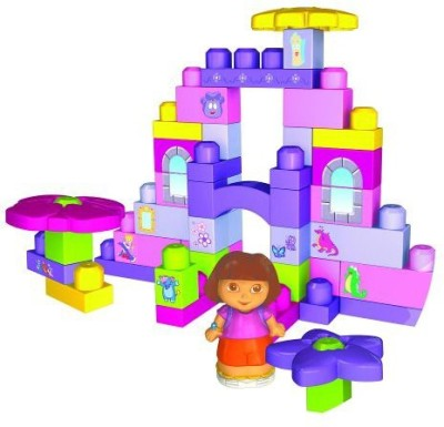 Mega Brands Mega Bloks Dora The Explorer Flower Bag (3064)