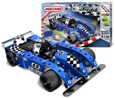 Meccano Turbo Evalution Blue