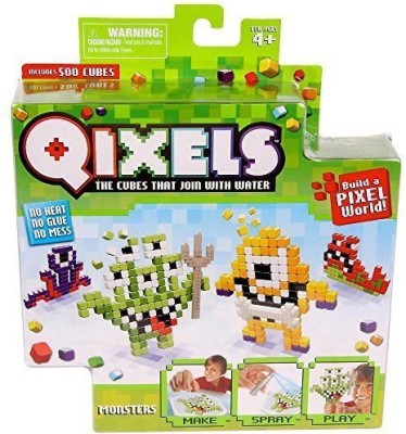 Qixels Theme Refill Pack - Monsters