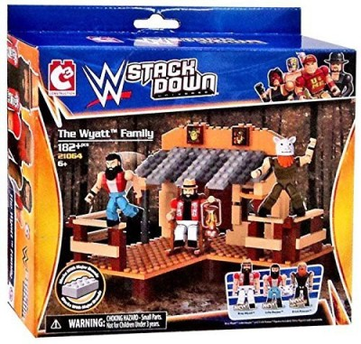 WWE Wrestling C3 Construction Stackdown Playset 21064