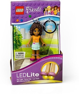 Santoki Lego Friends Andrea Keychain Light 275 Inch Perfect