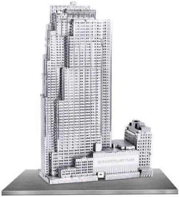 Fascinations Metal Earth 3D Metal Model 30 Rockefeller Plaza