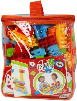 Planet of Toys Learning Building Blocks (Set of 139 pcs)