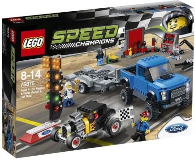 Lego Ford F-150 Raptor & Ford Mod