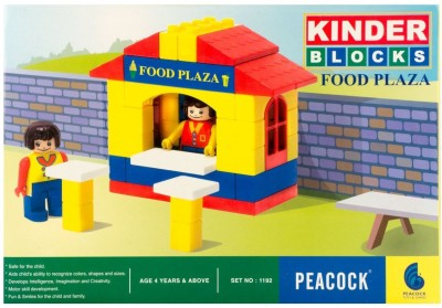 Wellpoint Peacock Kinder Blocks Food Plaza