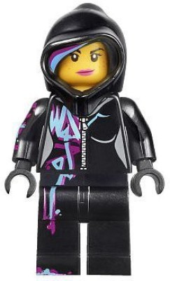 Lego The Movie Mini Wyldstyle With Hoodie Up