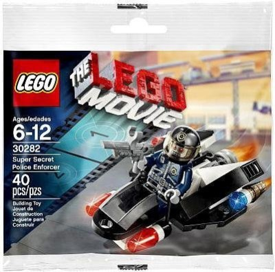 Lego Movie Super Secret Police Enforcer (30282)(Multicolor)