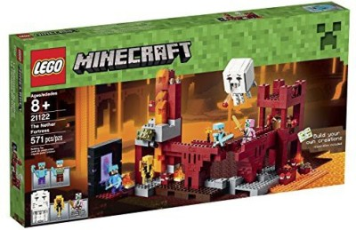 Lego Minecraft 21122 The Nether Fortress Building Kit