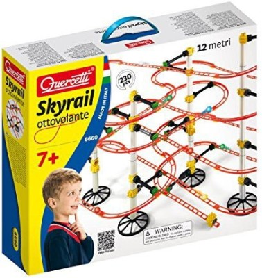 International Playthings Quercetti Skyrail Ottovolante Playset
