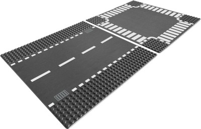 Lego Straight and Crossroad Plates