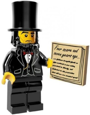 LEGO Movie Minifigure Collection LEGO Movie Series LOOSE Abraham Lincoln(Multicolor)