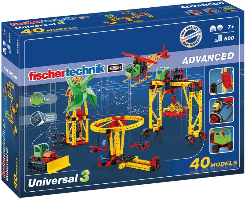 Fischertechnik Universal 3(Red, Yellow)