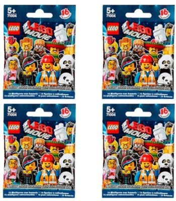 Lego Minis The Movie Series 71004 (Four Random Packs)