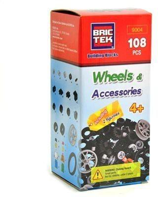 BRICTEK Wheels Kit - 108 pcs