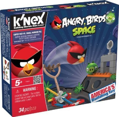 K,Nex Angry Birds Spacesuper Red Vs Small Minion Pig