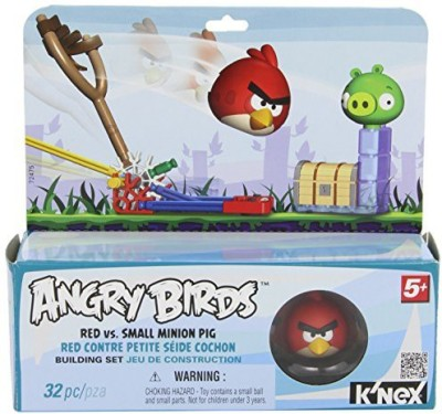 K,Nex Angry Birds Red Versus Small Minion Pig Building Set