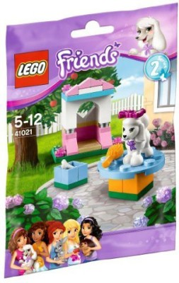 Toyland Lovely Castle 41021 And Lego Friends Poodle (Japan Import)