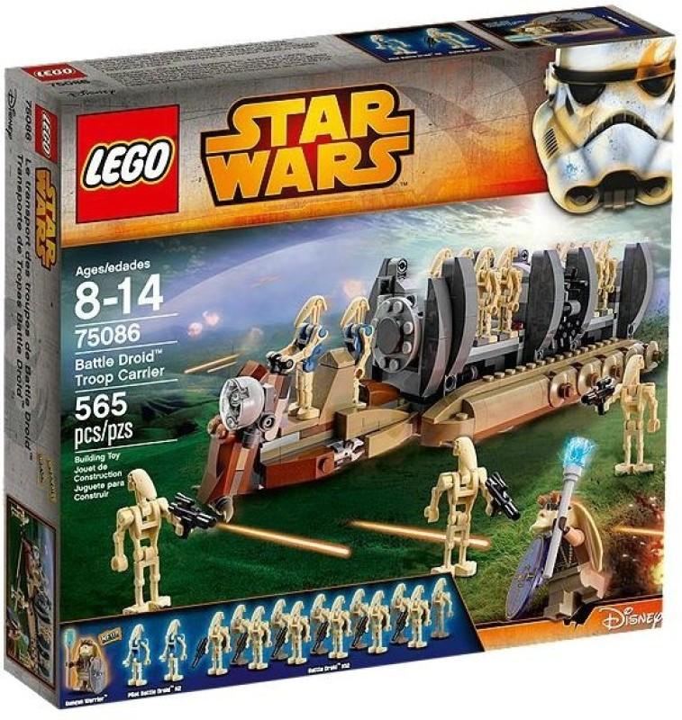 Lego Star Wars Battle Droid Troop Carrier(Multicolor)