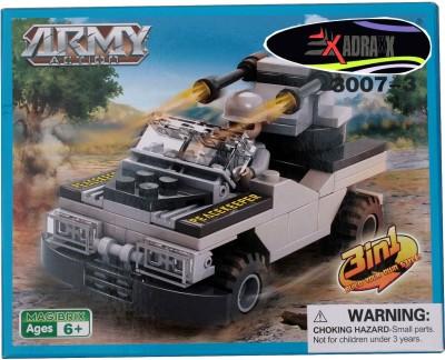 Adraxx Hobby 3D Fighter Tank Model Assembling Kit
