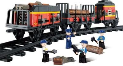 Sluban Cargo Bullet Train