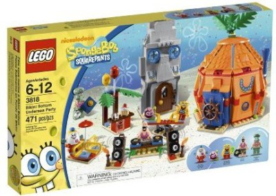 SpongeBob SquarePants Lego Spongebob Bikini Bottom Undersea Party 3818