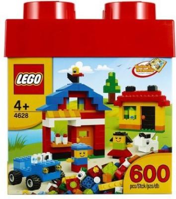 Lego Fun With Bricks 600Piece Building Set4628