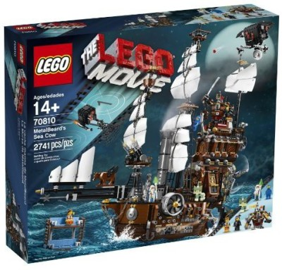 LEGO Movie 70810 Metal Beard,S Sea Cow