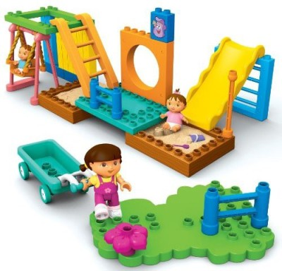 Mega Bloks Dora,S Park Adventure