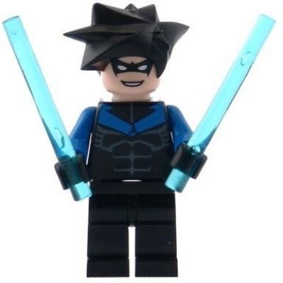 Lego Nightwing Batman Mini With Batons