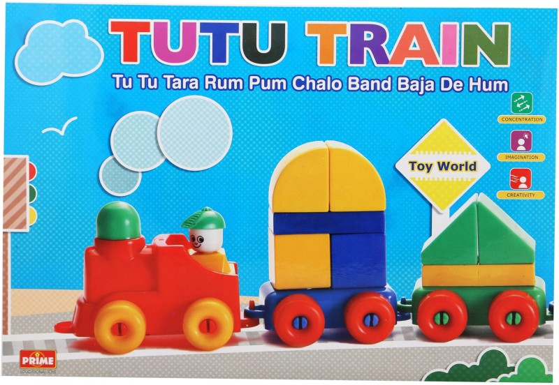 Prime Educational Toys Sr. Tutu Train(Multicolor)