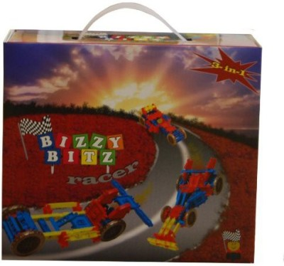 Bizzy Bitz Building = Racer Set 63 Pieces