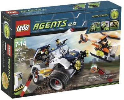 Lego Agents 4Wheeling Pursuit (8969)