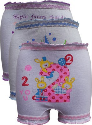 Gumber Printed Girl's Bloomer