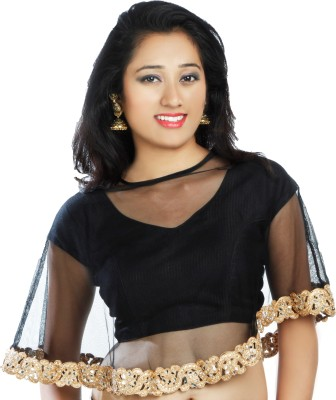 Lady in Style V-Neck Women's Stitched Blouse at flipkart