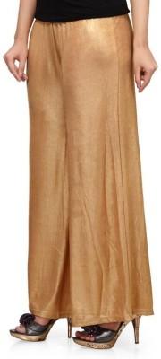 MSM Regular Fit Women's Gold Trousers