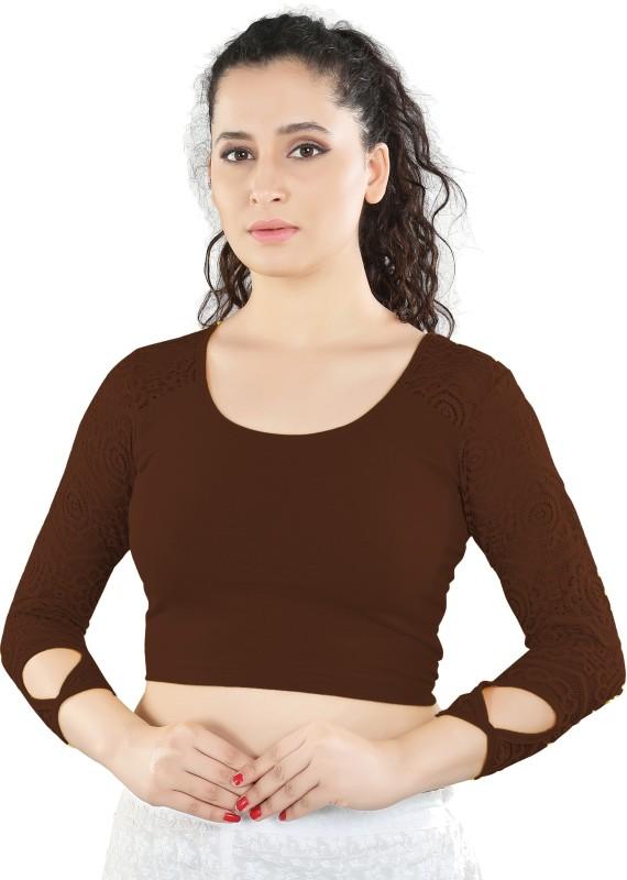 Salwar Studio Round Neck Women's Stitched Blouse
