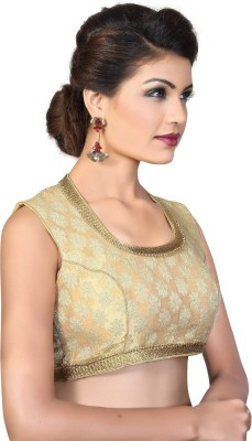Muhenera Round Neck Women's Stitched Blouse at flipkart