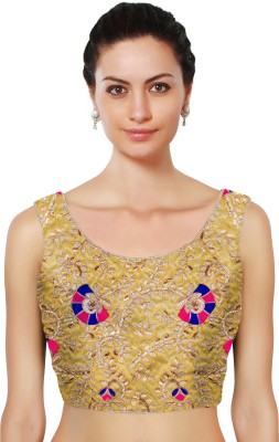 Fabron Round Neck Women's Stitched Blouse at flipkart