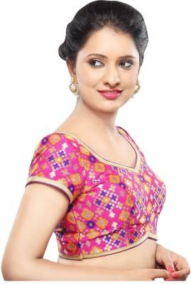 Muhenera V-Neck Women's Stitched Blouse at flipkart