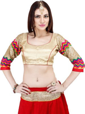 paavni creations Round Neck Women's Blouse