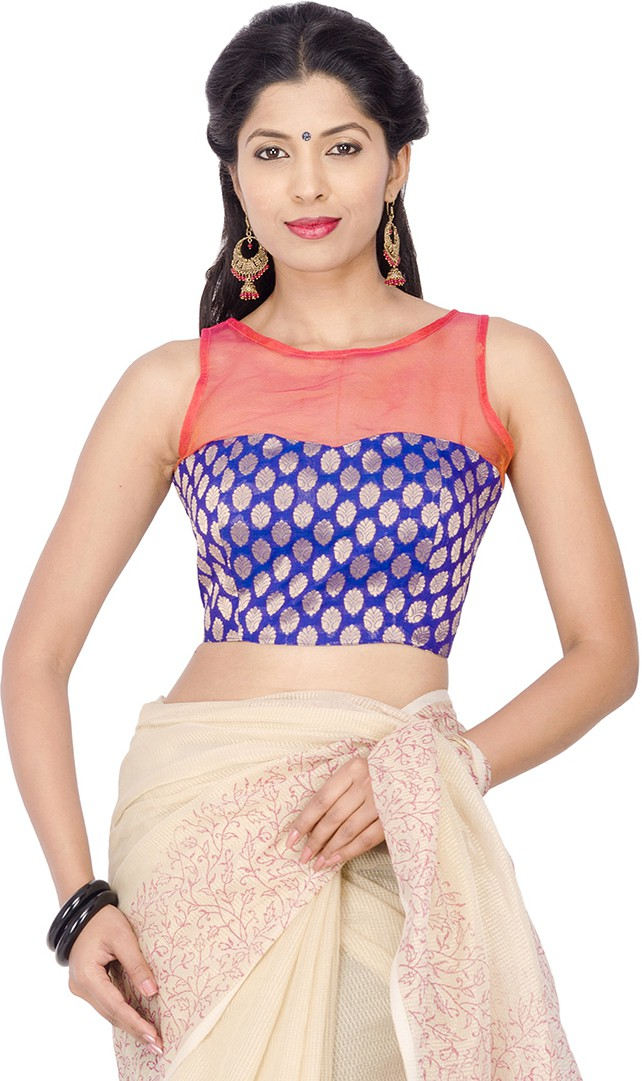 Sarisha Boat Neck Womens Stitched Blouse