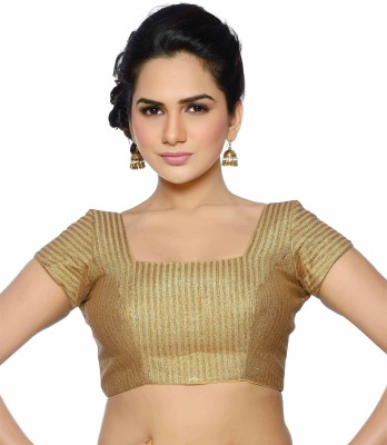 Studio Shringaar Square Neck Women's Stitched Blouse at flipkart