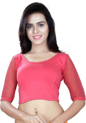 Dancing Girl Round Neck Women's Blouse