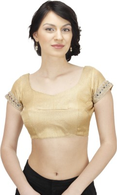 PAAVNI CREATIONS Band collar Women's Blouse
